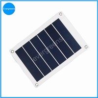 3w flexible and folding amorphous solar phone charger