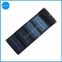 4W amorphous folding and flexible solar mobile charger