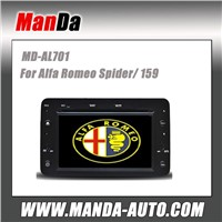 Manda 2 din car multimedia for Alfa Romeo Spider/ 159 factory navigation in-dash dvd head unit
