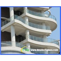 Tempered laminated glass for balustrades/ railing