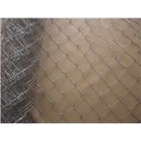 chain link fence/galvanzied cyclone fence, hurricane fence,weaving chain-link fencing