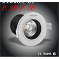 7/10W led downlight ceiling light ,cob citizen light,