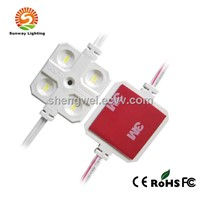 White surface injection module DC12V 4 LEDs SMD 5630 RA>80 IP67 waterproof led modules