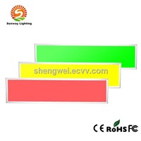 RGB led panel light colored panel light indoor lighting  panel 48W