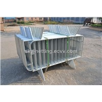 Hot Dipped Galvanized,Powder Coated Temporary Crowd Queue Barrier