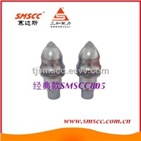 round shank conical drill bit tool holder for civil construction