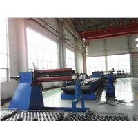 steel grain bin forming production line