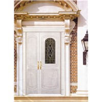 Big-small  Wooden door HB8009