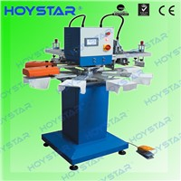 2 color rapid screen printing machine for sock