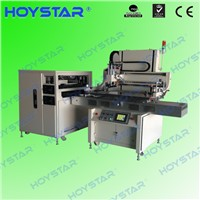Flat automatic screen printing machines for steel sheet