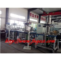 Automatic bellow forming machine