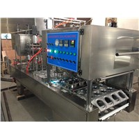 BG60A Full automatic Cup filling and sealing machine or liquid
