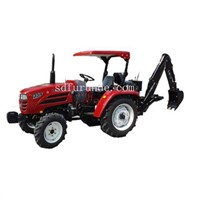 LW small garden tractor backhoe 3 point hitch backhoe loader