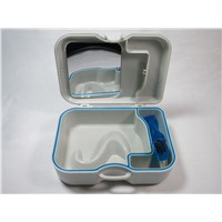 Denture Box With Mirror & Brush