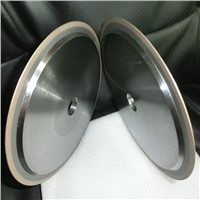 Metal bonded diamond cutting wheel for glass and magnetic material