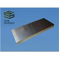 Molybdenum plate with factory price Black cleaned ground