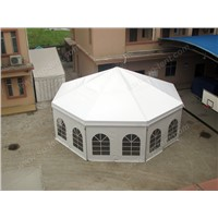15m heavy duty octagonal party marquee/Eight-sided pagoda tent used for wedding reception