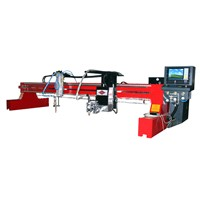 Auto bevel plasma cutting machine