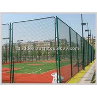 Chain link fence/ diamond mesh