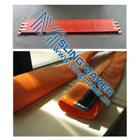 High quality PES pad and webbing sleeve tubular for mooring rope protector