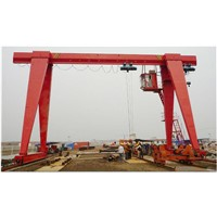 10 ton electric hoist single girder gantry crane