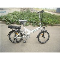 "20"" folding suspension bike 250W power best selling"
