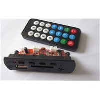 FM MP3 module with remote control