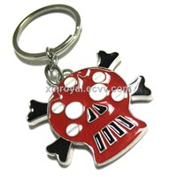 KC00137 Promotion Accessories Metal Key chains Gift  Epoxy Skull Key ring  Fashion Wholesale Jewelry