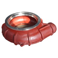 Long Service Life Slurry Pumps Volute casing Liner(110)