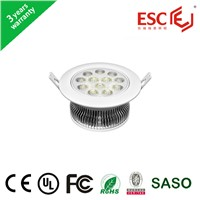 90-100LM/W 7W recessed led down light dia160mm AC85V-265V