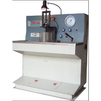 Atomizing injector test bench