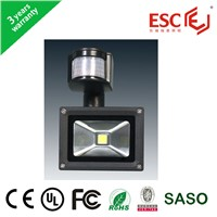 CE ROHS certificate led flood light 50W high power led flood light with motion sensor
