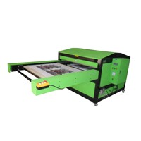Large format sublimation machine, large format heat transfer machine for fabric, textile industry