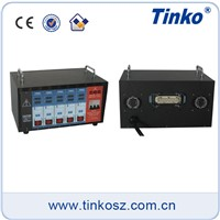 Tinko 5 zone best solution for hot runner system temperature controller for plastic machinery