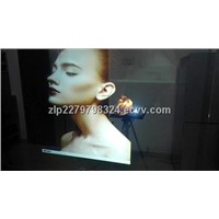 3D Holographic Transparent Film/Rear Projection Film for Shop Window Advertising