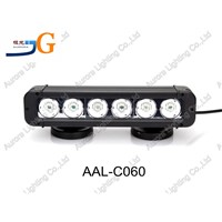 11inch 60W high quality IP67 waterproof auto parts auto 4x4 offroad led light bar AAL-C060
