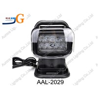 7'' LED headlight with magnet base wireless remote LED work light AAL-2029