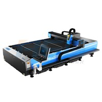 500W metal stainless steel laser cutting machine in China