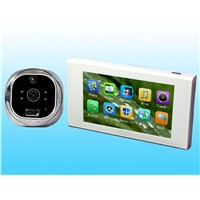 New record photo and record phone calls 4.7-inch color LCD screen night vision digital door viewer