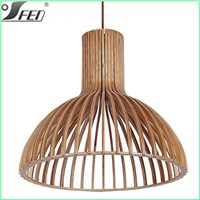 Modern lighting energy saving Zhongshan wood ceiling lamp