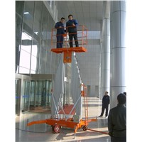 SJYL0.15-8 model vertical aluminum alloy lift platform hydraulic lift
