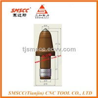 U85-30 Coal Mining Bits Tungsten Carbide Round Shank Pick Underground Miner Teeth
