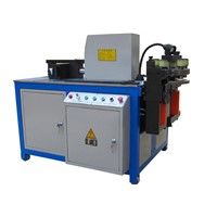 copper busbar bending machine optional cutting punching