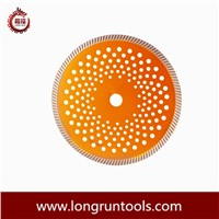 Turbo Diamond saw blade with mutihole