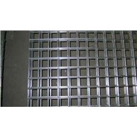 Black Iron Wire Welded Mesh Panel