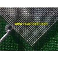 304 Stainless steel crimped wire mesh(ISO 9001)