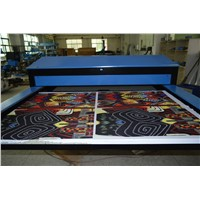 Hydraulic automatic large format sublimation machine