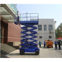 Self-propelled hydraulic scissor lift platform for hot sale