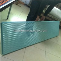 acoustic aluminum perforated ceiling panel