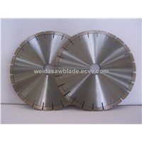 diamond saw blade with silence core